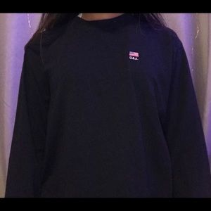 Brandy Melville USA Embroidered Longsleeve